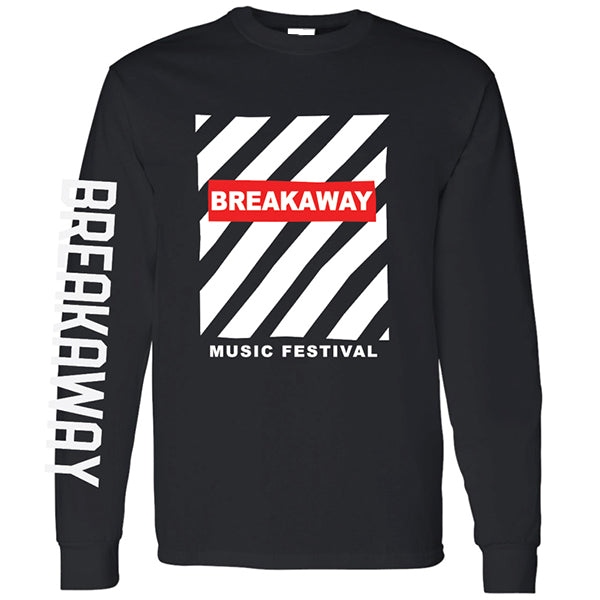 Breakaway Zebra Long Sleeve Tee