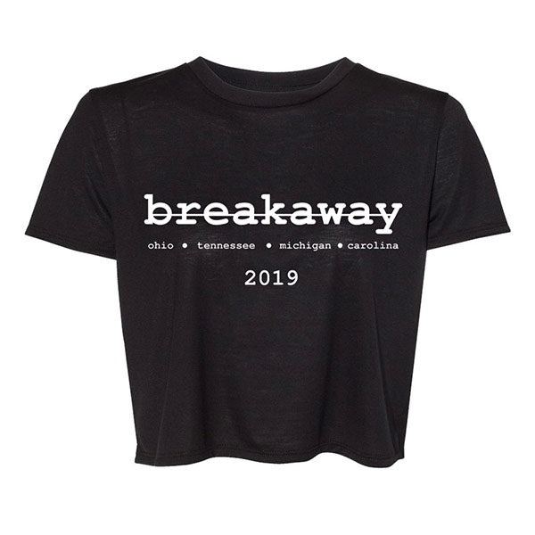 Breakaway 2019 Flowy Crop Top