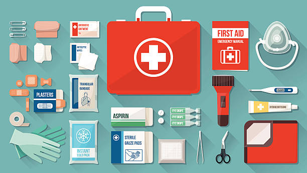 First Aid vector clipart