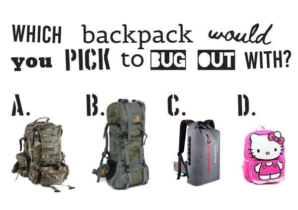 Which bug out backpack should you choose?