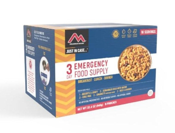 Just in Case...® 3 Day Emergency Food Supply by Mountain House