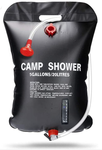 Solar Heated, gravity fed, 5 Gal (20L) Camp Shower
