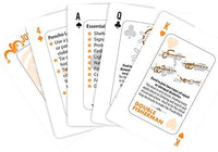Wilderness Survival Tips Playing Cards