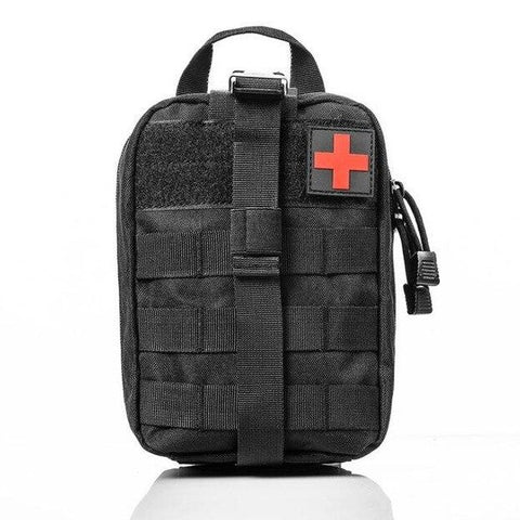 First Aid Kit Medical Bag, MOLLE Rip-Away EMT IFAK Blowout Bag (Bag Only)