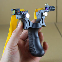 High Precision Slingshot With Laser Aim