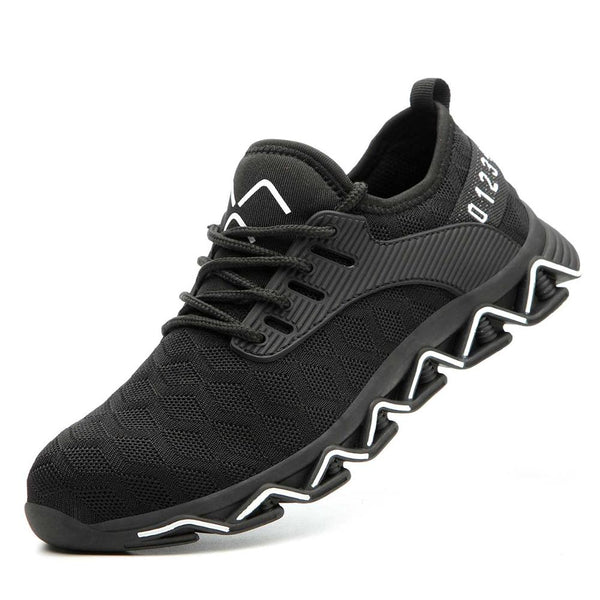 Steel Toe Reinforced and Anti-puncture Sole Sneakers