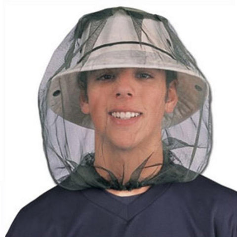 Protective Head Mesh Against Mosquitoes and Other Insects