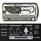 Fishing Gear Credit Card Multi-Tool