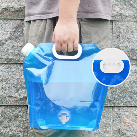 5L/10L Portable, Collapsible Water Bags