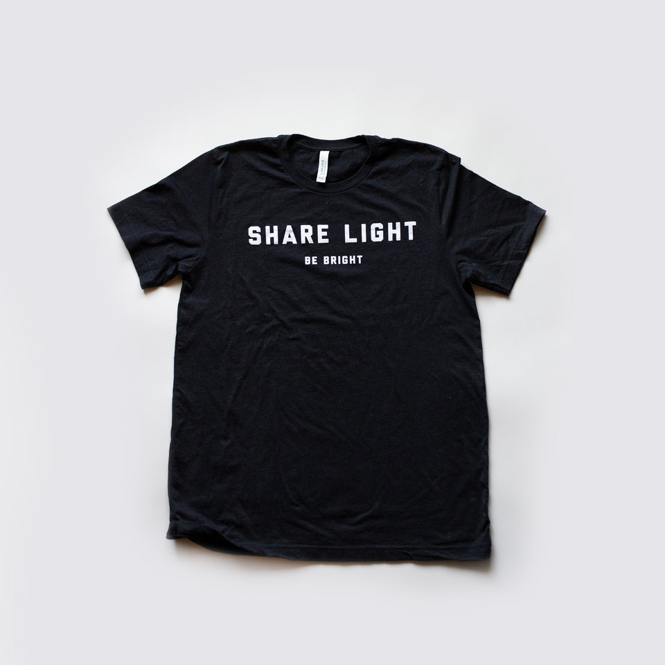 Share Light X Be Bright Tee