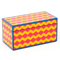 Boho Yellow Lacquer Box