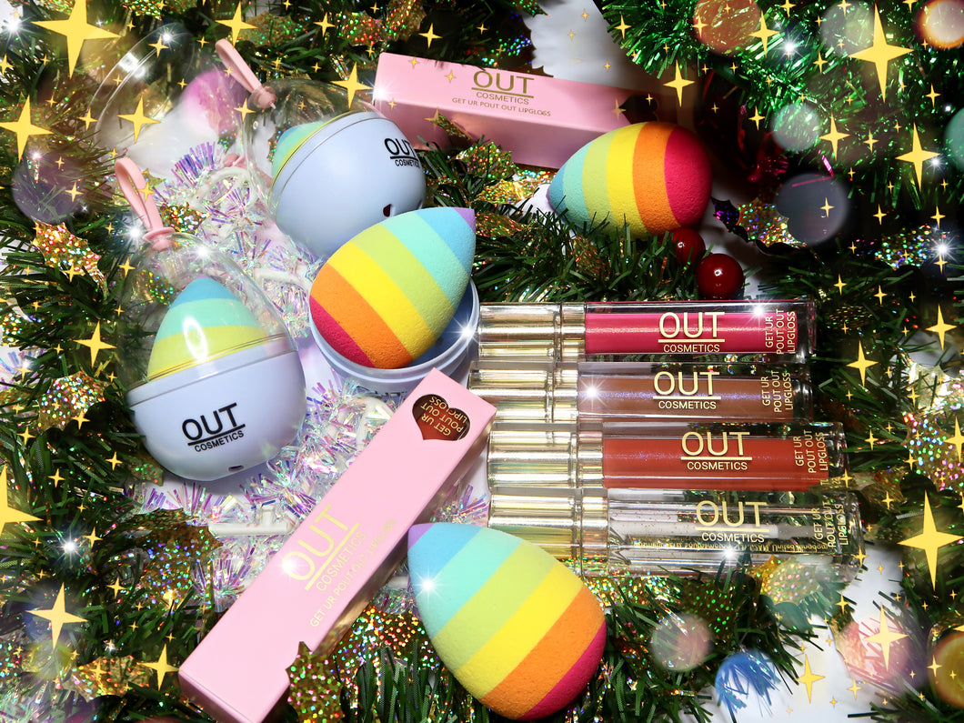 Christmas makeup collection
