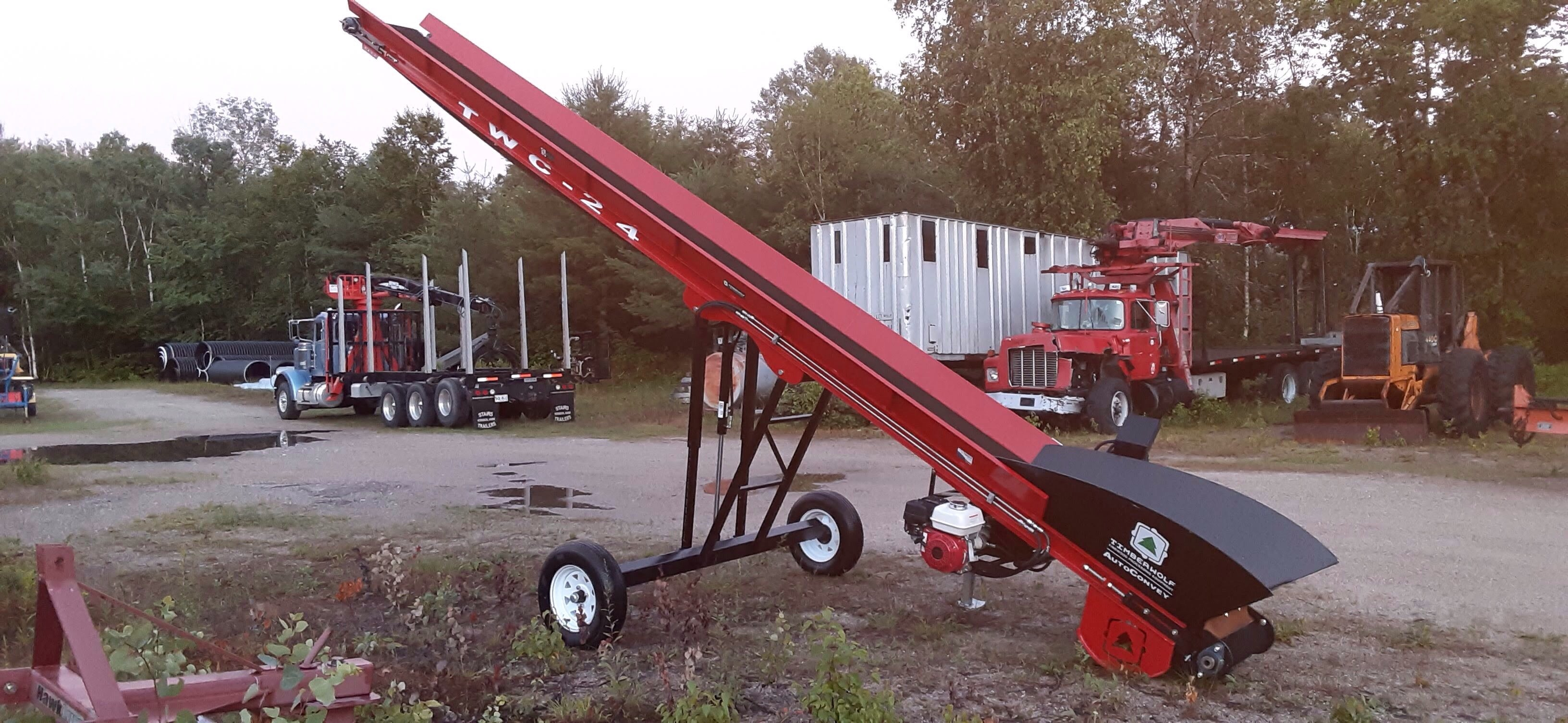 Call for Pricing- TWC-24 Rough Top Conveyor- Davis Logging and Equipment Hanover, ME