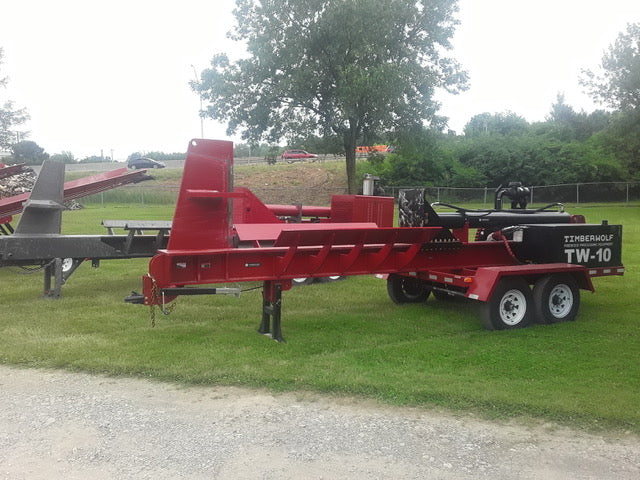 TW-10 Log Buster at Brownwood Sales Columbus, OH - Timberwolf Firewood Processing Equipment
