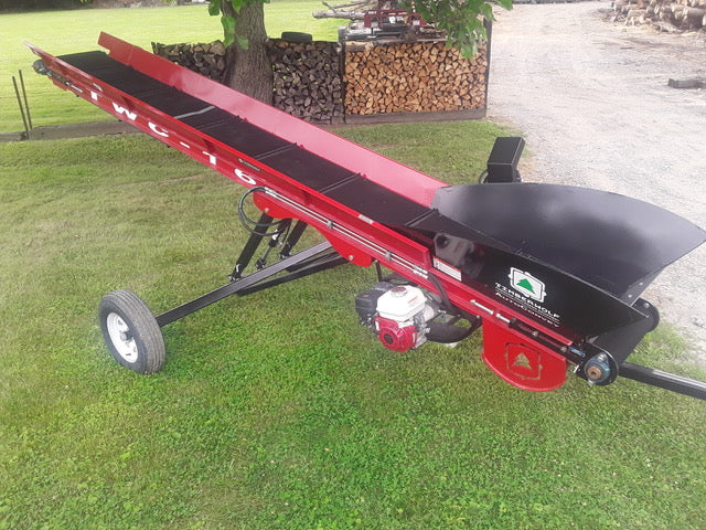 TWC16 Paddle Belt at Brownwood Sales Columbus, OH - Timberwolf Firewood Processing Equipment