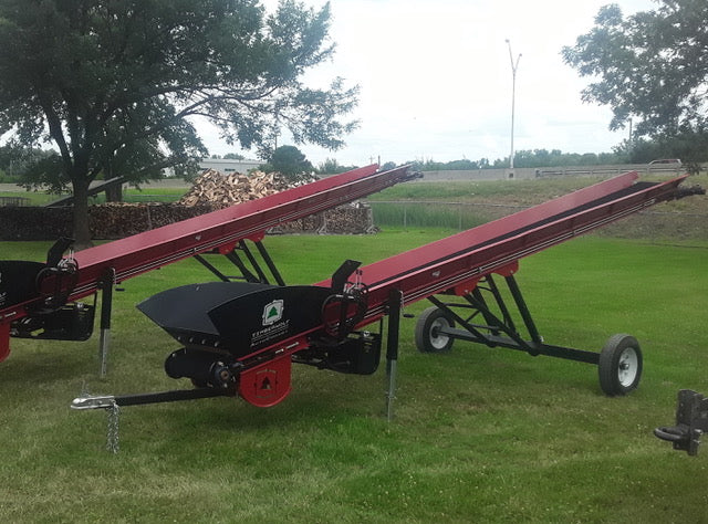 TWC24 Conveyor at Brownwood Sales Columbus, OH - Timberwolf Firewood Processing Equipment