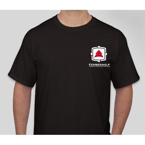 Timberwolf T-Shirt - Timberwolf Firewood Processing Equipment