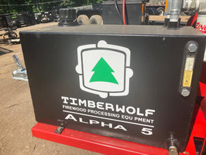 Alpha 5 at Chipper LLC, Cummings, GA - Timberwolf Firewood Processing Equipment