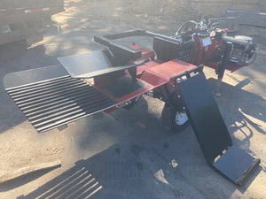 Alpha 6 at Chipper LLC, Cummings GA - Timberwolf Firewood Processing Equipment