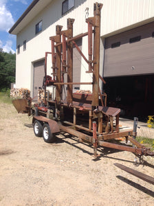 2000 Pro MX- Davis Logging and Equipment Hanover, ME - Timberwolf Firewood Processing Equipment
