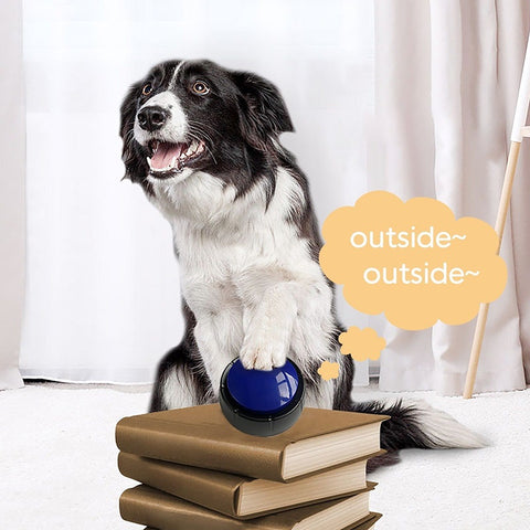 Interactive Dog Personalized Sound Buttons
