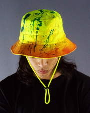 neon yellow hat