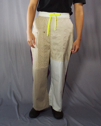 beige tones and burberry tailored trousers