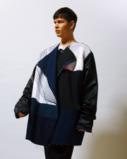 reversible archive arto print jacket