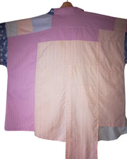 pastels colour block shirt