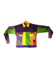 neon colours jacket - ARTO