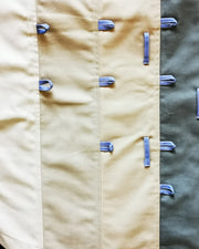beige and grey block skirt - ARTO