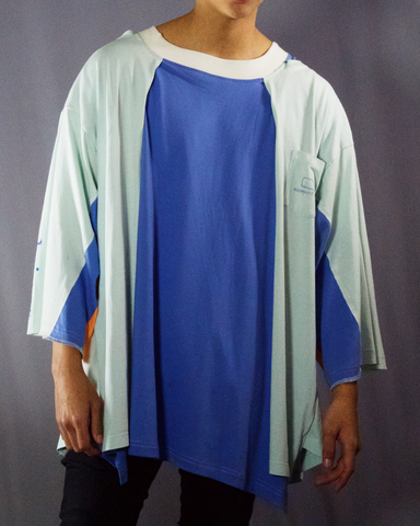 sky blue shades t-shirt - ARTO