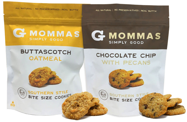 Chocolate Chip with Pecans and Butterscotch Oatmeal Cookies - Variety Pack 2