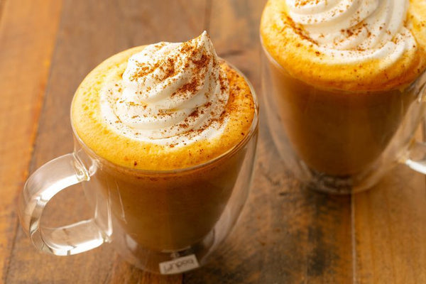 Spiced Carrot Cake Latte