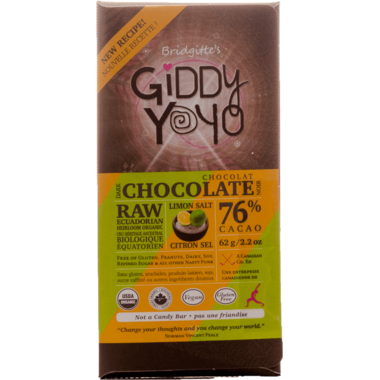 Dark Chocolate Lemon Lime Bar Organic Chocolate Bar Giddy Yoyo