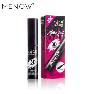 MENOW Meno M314 3D Mascara Fiber Grafted Long Thick Fiber Long Roll Warp Waterproof and Non-Halo Dye