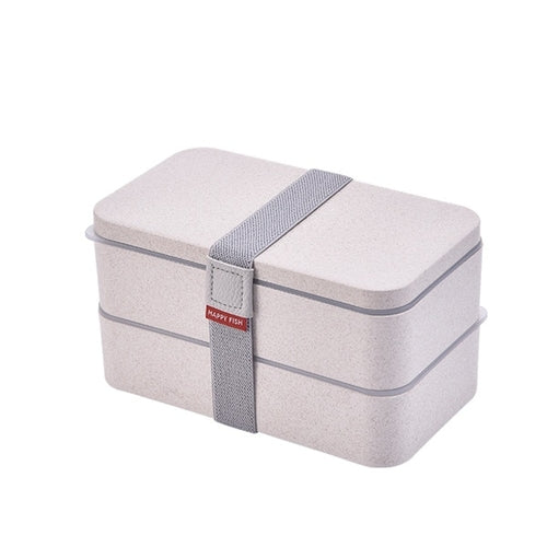 Wheatstraw Two Tier Lunch box