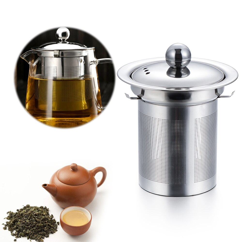 1PC Pratical Stainless Steel Reusable Mesh Infuser