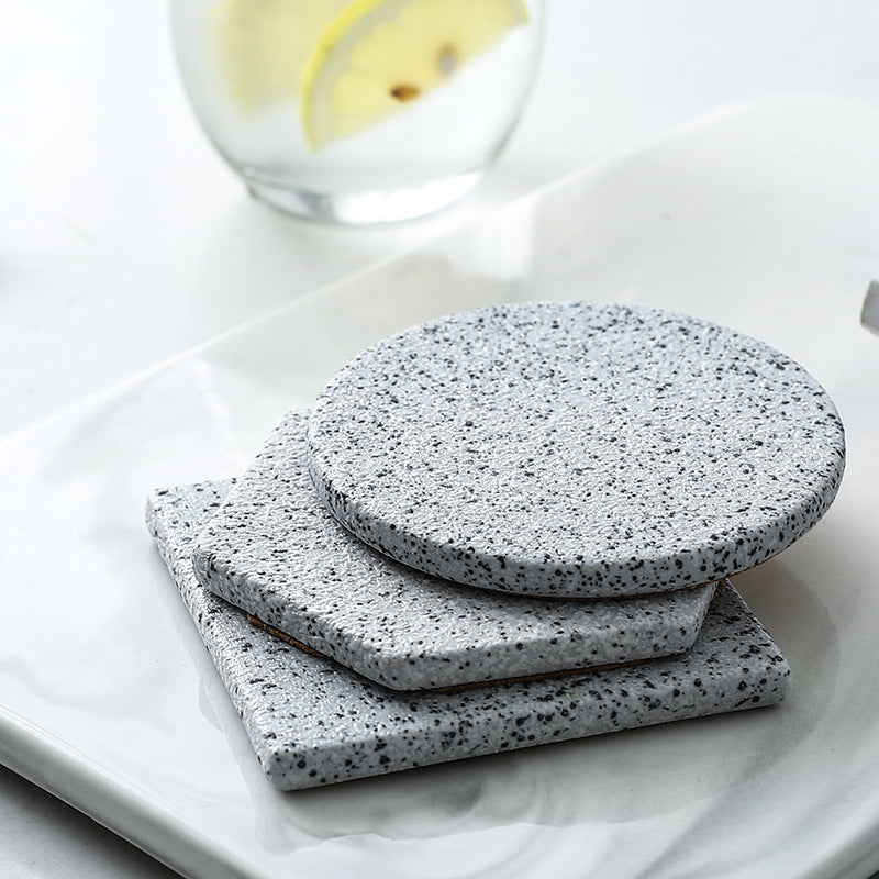Granite Pattern Ceramic Coaster