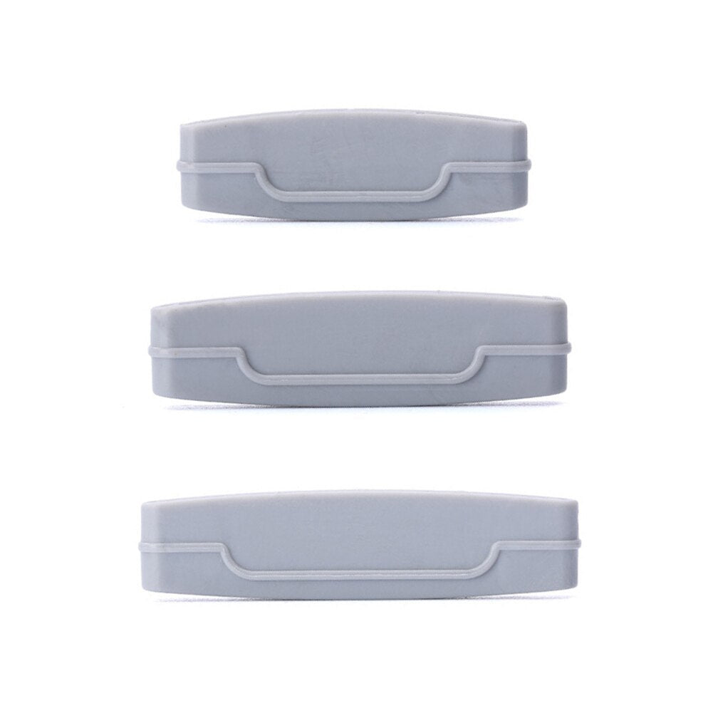 Three Piece Squeeze Clips