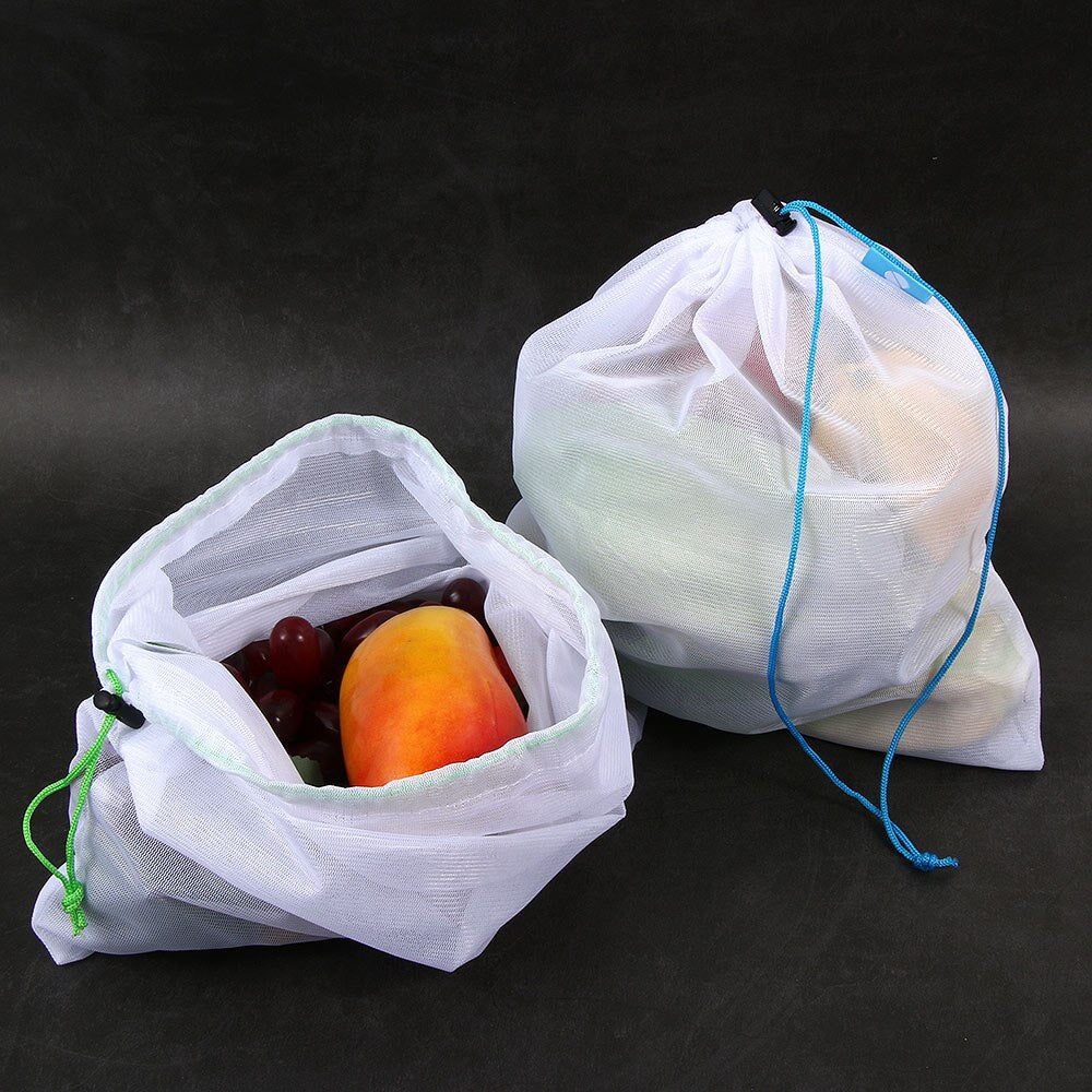 5 Piece Reusable Mesh Bag