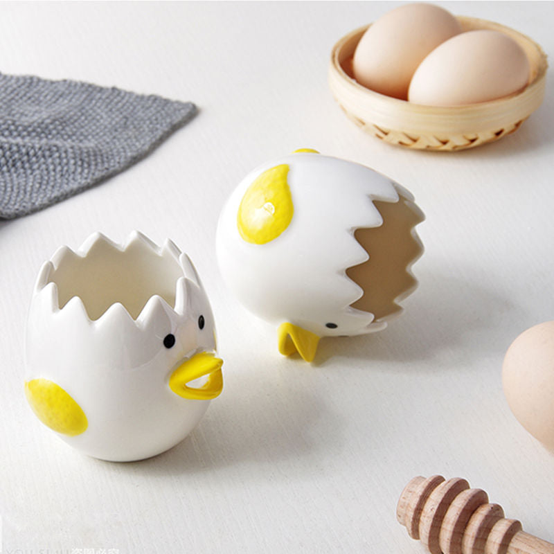 Ceramic Chick Yolk Separator