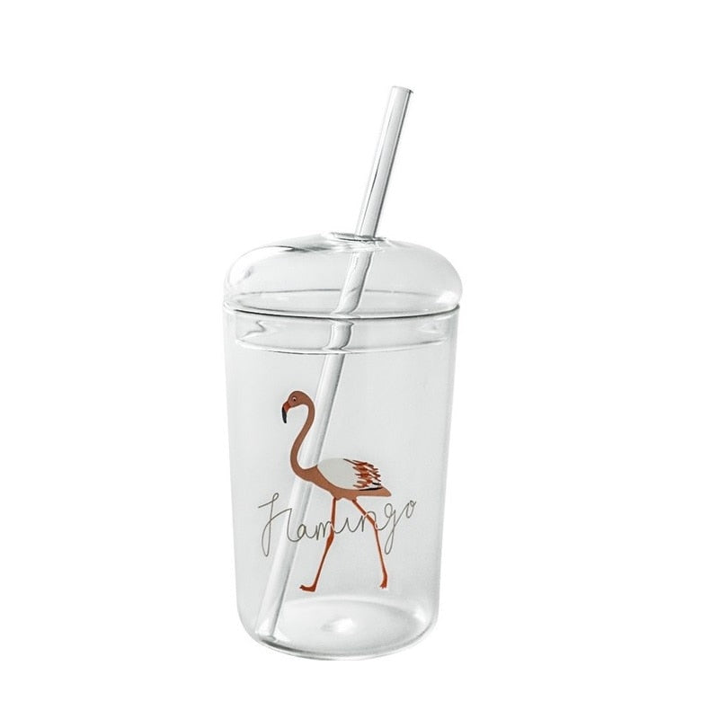 Reusable Travel Glass with Sealable Lid