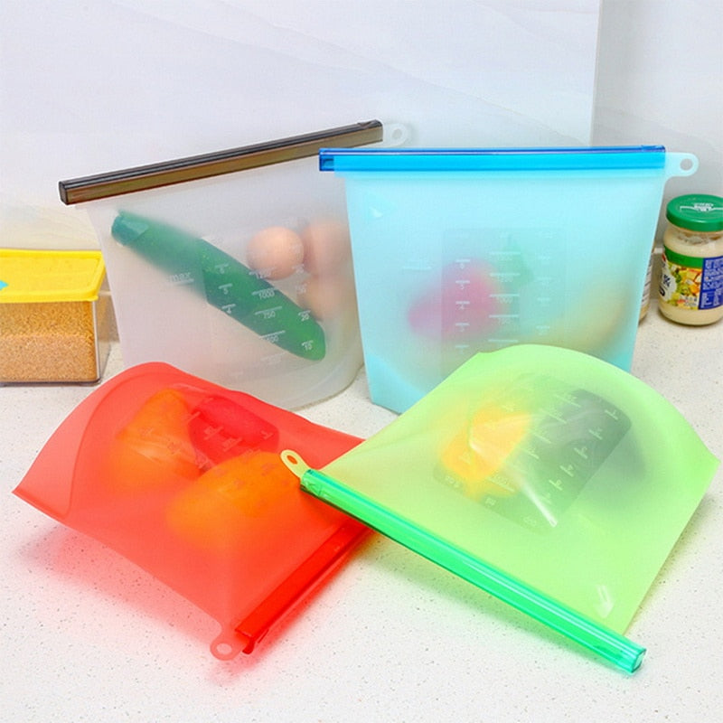 Sealable Silicone Bags