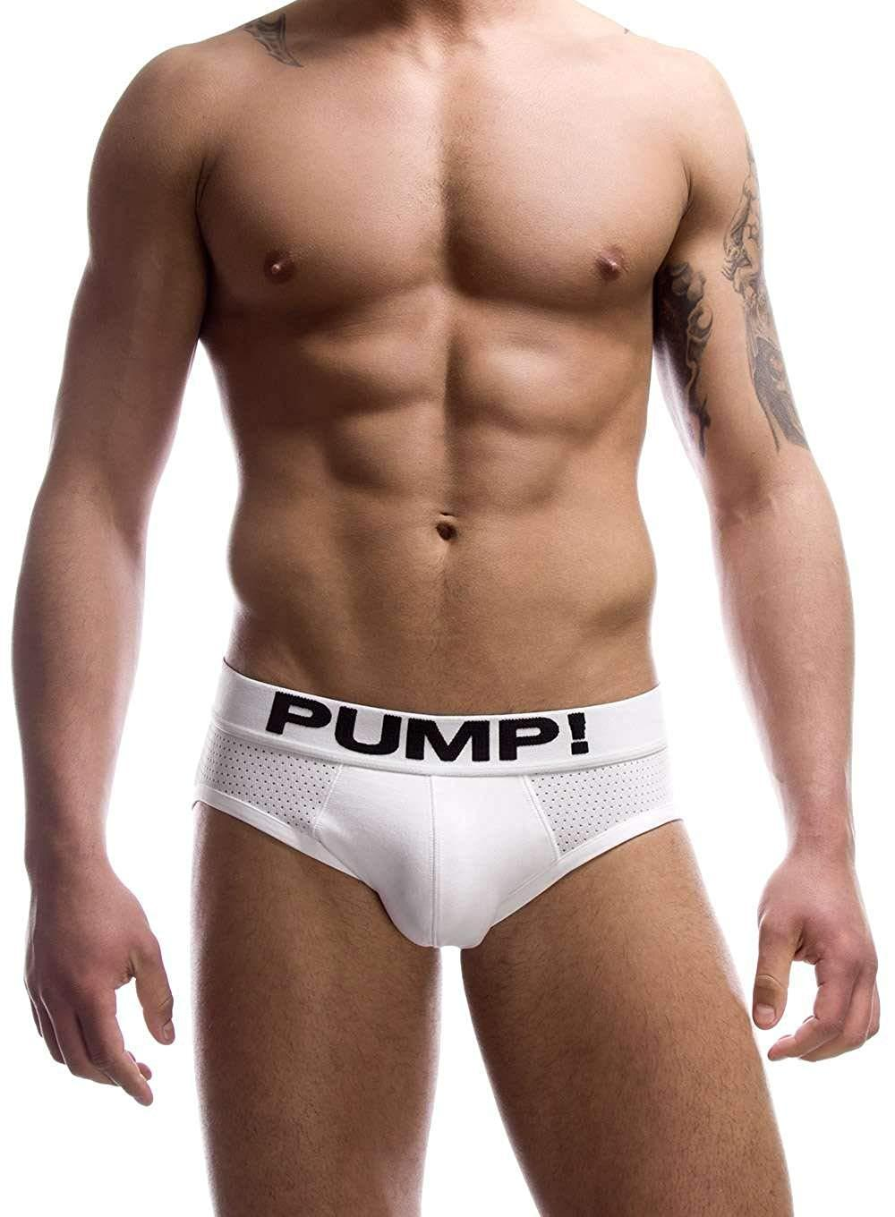 PUMP! Classic White Brief