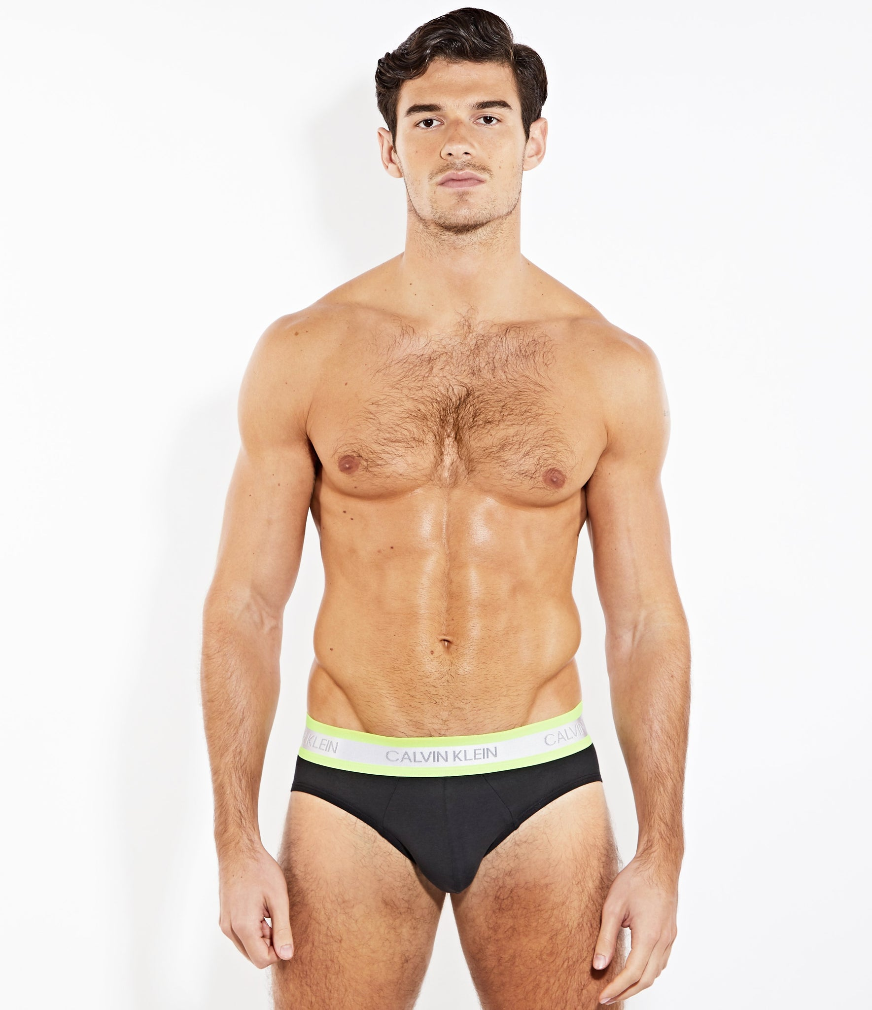 Calvin Klein Limited Edition NEON Brief Black
