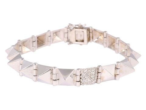 Anita Ko Medium Diamond Spike Bracelet