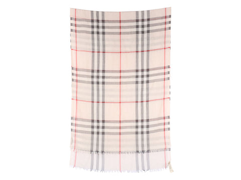 Burberry Stone Check Giant Scarf