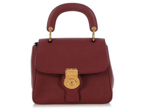 Burberry Small Dark Red DK88