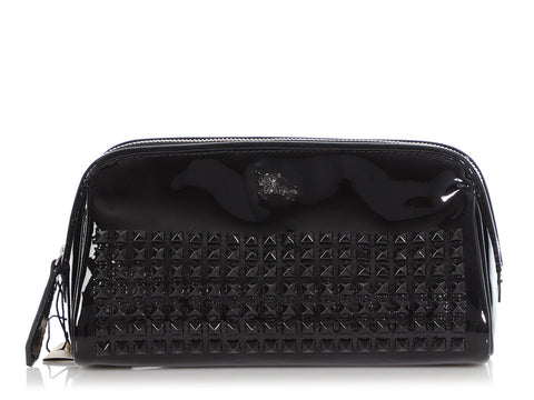 Burberry Black Patent Studded Case
